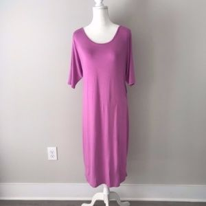 LuLaRoe | Pink Julia Maxi Dress NWT Sz. 3XL